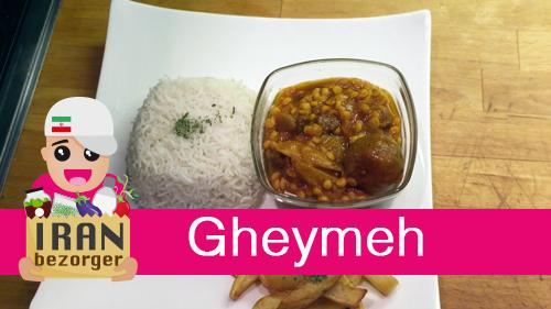 Hoe maak ik Gheymeh